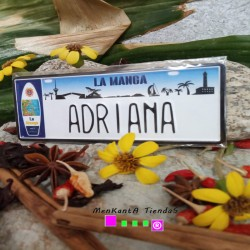 Placa Personalizada Adriana