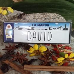 Placa Personalizada David