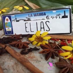 Placa Personalizada Elias