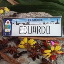 Placa Personalizada Eduardo
