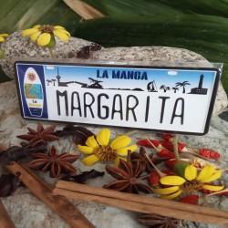 Placa Personalizada Margarita
