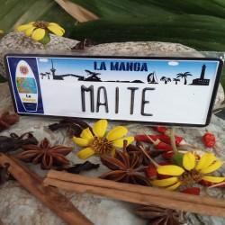 Placa Personalizada Maite