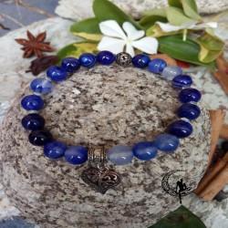 Pulsera Amuleto Blue Osidian