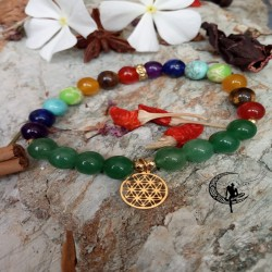 Pulsera Amuleto Jade Verde...