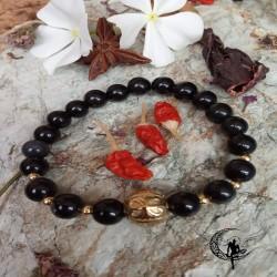 Pulsera Amuleto Obsidina